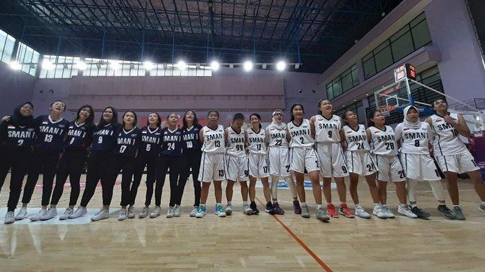 Tim Basket Putri SMAN 1 Jakarta Berhasil Lolos ke Final Honda DBL-North Jakarta