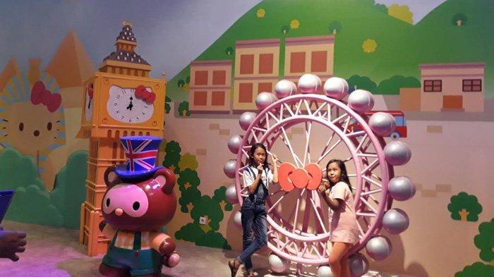 Hello Kitty Adventure Dufan Ancol, Wahana Asyik untuk Mengelilingi 'Dunia'