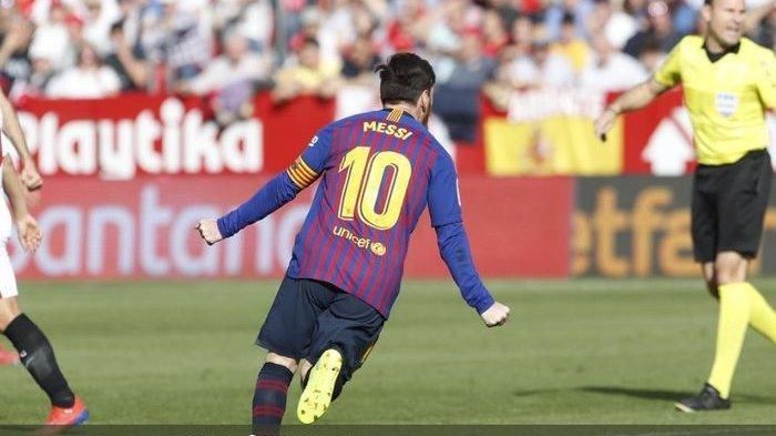 Lionel Messi Luar Biasa di Balik Empat Gol Barcelona saat Tekuk Sevilla di Kandangnya
