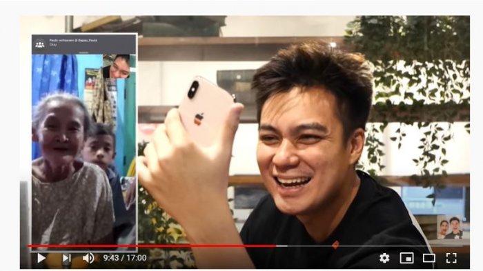 Buat Baim Wong Heran Karena Kerap Minta Uang, Nenek Iro Akhirnya Video Call Tunjukkan Kondisi Kaki