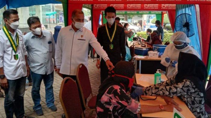 Kolaborasi dengan Polri, DPP SEMMI Gelar Vaksinasi Nasional di Tanri Abeng University Jaksel
