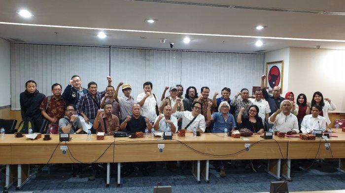 Bahas Pembangunan Hotel Bintang 5 di TIM, Puluhan Seniman Mengadu ke Fraksi PDIP