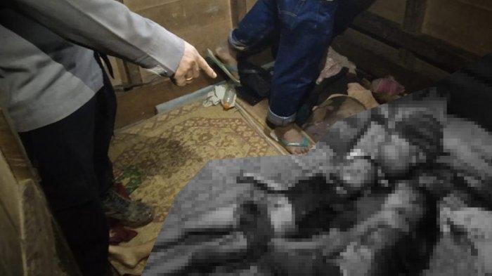 Seorang ibu tega membunuh ketiga anak kandungnya yang masih balita di rumahnya Dusun II Desa Banua Sibohou, Kecamatan Namohalu Esiwa, Kabupaten Nias Utara, Rabu (9/12/2020)