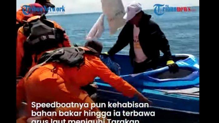 Seorang Pria Terombang-ambing di Laut Dua Hari Karena Kehabisan Bensin, Berbuka Puasa Pakai Air Laut