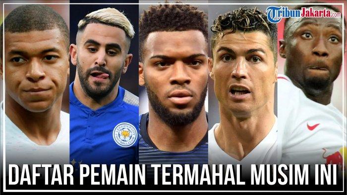 Bukan Cuma Cristiano Ronaldo, Ini 4 Pemain Sepak Bola Termahal Musim Ini