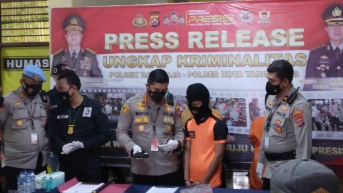 Sejoli di Tangerang Kompak Curi 4 Motor untuk Gaya Hidup, Ditangkapnya Pun saat Sedang Pesta Miras