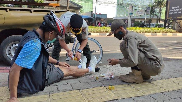 Pesepeda Terjatuh saat Melintas di Jalan Fatmawati, Korban Oleng Hingga Kehilangan Kendali