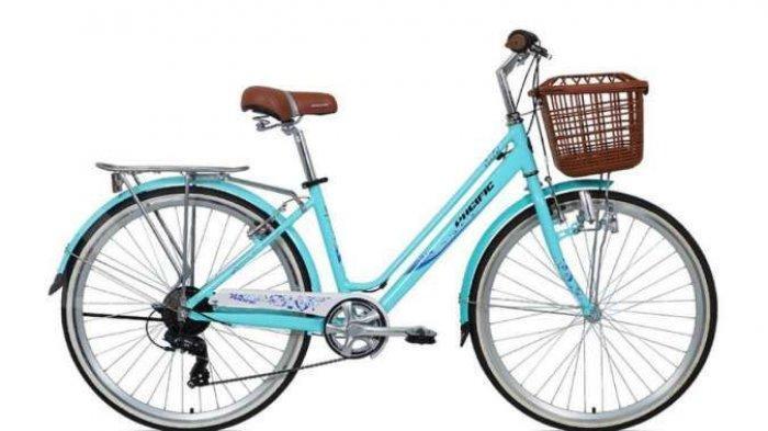 Desain Warna Terang Tetap Nyaman di Kantong, Intip Harga Sepeda Wanita Pacific Violet