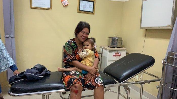 Septi, pemotor yang terlibat kecelakaan maut saat memboncengi tiga anaknya. (Istimewa via Tribun Sumsel)