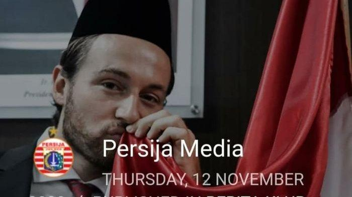 Mantan pelatih Persija Jakarta, Sergio Farias, memberikan komentar terkait Marc Klok resmi menjadi Warga Negara Indonesia (WNI)