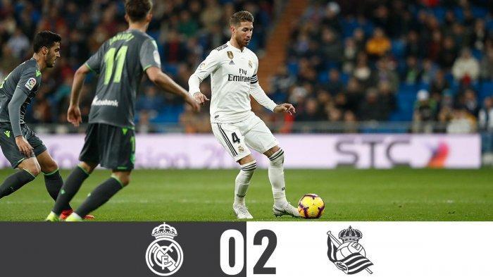 Real Madrid Kalah di Kandang, Awal yang Buruk Sambut La Liga Tahun 2019