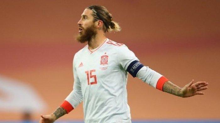 Absen Lawan Liverpool, Sergio Ramos Positif Covid-19