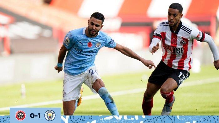 Gol Tunggal Kyle Walker Bantu Manchester City Bawa Tiga Poin Dari Kandang Sheffield