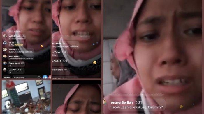 Ketakutan & Meminta Tolong, Viral di Medsos Kisah Remaja Perempuan Terjebak Banjir Live di Facebook