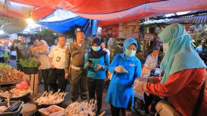 Petugas Temukan Bahan Makanan Mengandung Boraks dan Formalin di Pasar Anyar Tangerang