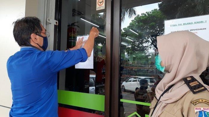 Pastikan Protokol Kesehatan Selama PSBB Ketat, Sudin Ketenagakerjaan Jakarta Barat Sidak Perkantoran