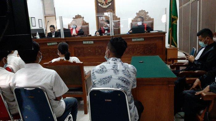 Pengadilan Negeri Jakarta Selatan menggelar sidang tuntutan kasus kebakaran gedung utama Kejaksaan Agung (Kejagung) RI, Senin (19/4/2021).
