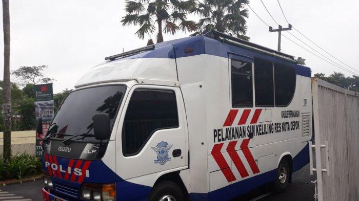 Hari Ini Ada 2 Lokasi Layanan SIM Keliling Kota Depok