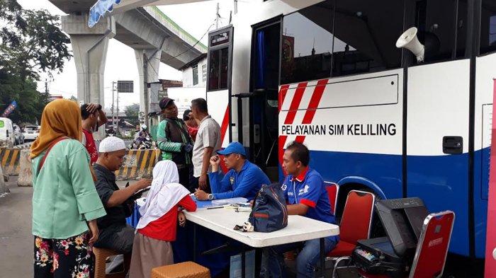 Jakarta Terapkan PSBB Ketat, Catat Lokasi Pelayanan SIM Keliling Hari Ini Senin (14/9/2020)