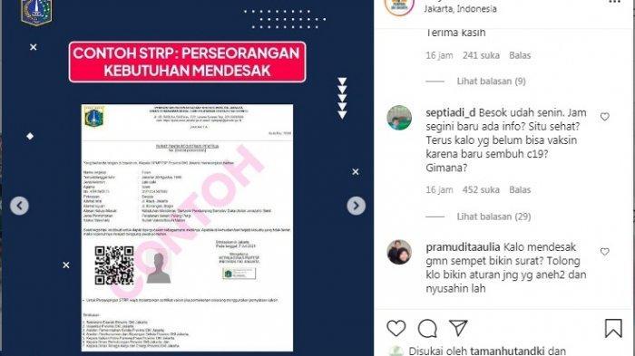 PPKM Darurat Diperpanjang, Ini Cara Mendapatkan STRP Sebagai Syarat Keluar Masuk Jakarta