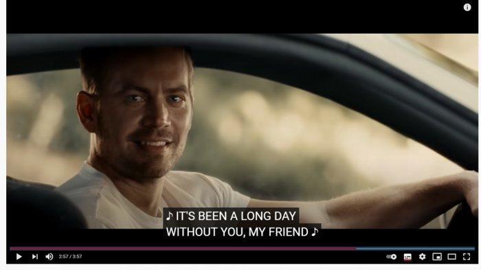 Chord Lagu dan Lirik See You Again - Wiz Khalifa ft. Charlie Puth, Lagu untuk Mengenang Paul Walker