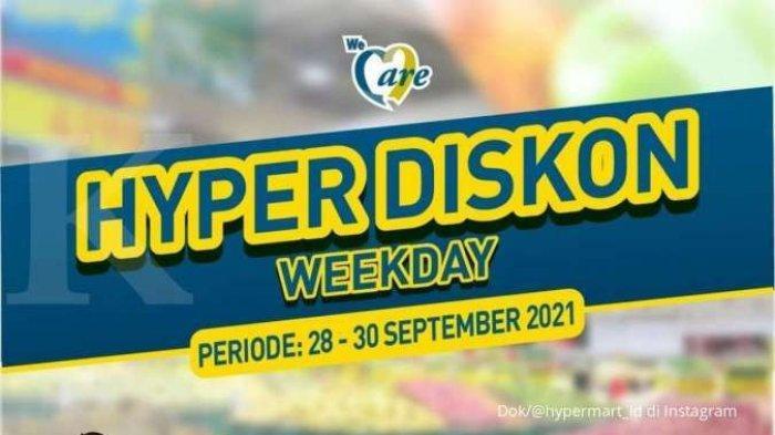 Promo Hypermart Weekday Akhir September, Ayam Broiler Rp25.000-an, Indomie Goreng Rp89.000-an