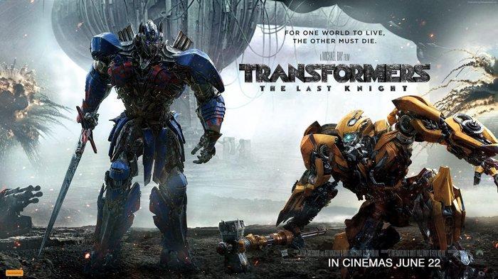 Simak sinopsis film Transformers: The Last Knight yang tayang di Bioskop Trans TV, Jumat 18 Desember 2020 Pukul 21.30 WIB.