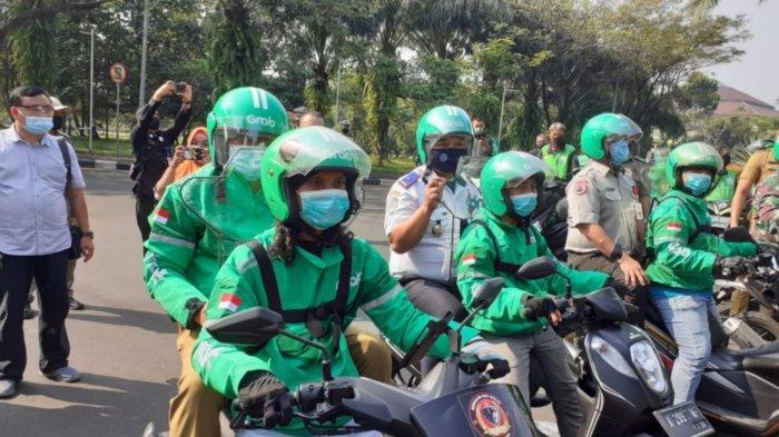 Gelar Simulasi Ojek Online, Bupati Tangerang Masih Tunggu Keputusan Provinsi Soal Waktu Operasional