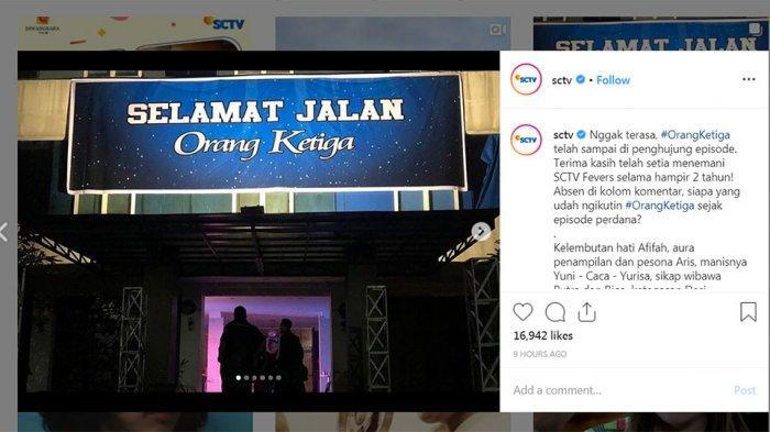 TAMAT, Akhir Kisah Sinetron Orang Ketiga: Dimas Ditangkap, Yurisa & Putra Menikah, Afifah Beri Pesan