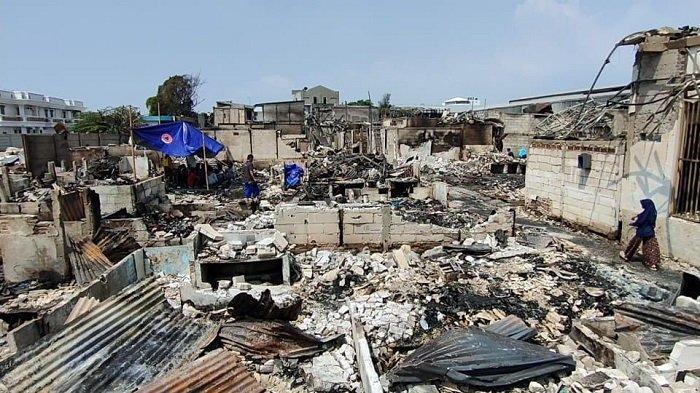 400 Rumah di Kapuk Muara Hangus Dilalap Si Jago Merah