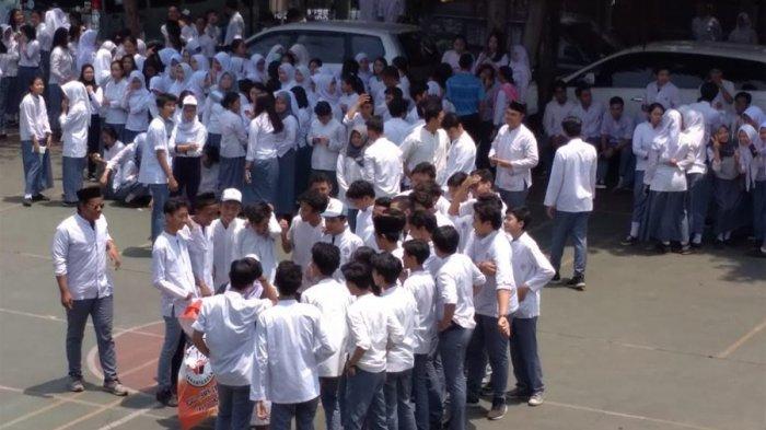 Ratusan Murid SMAN 46 Jakarta Pertanyakan Sisa Anggaran Penari Ratoh Djaroe Sebesar Rp 88 Juta