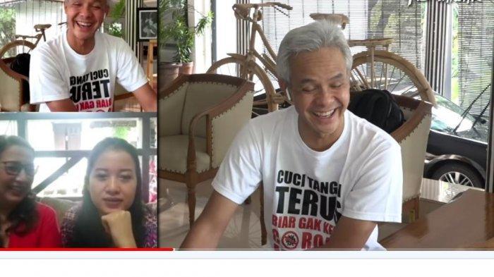 Ganjar Pranowo Tertawa Dengar Kisah Lucu Pasien Corona Pertama saat Dirawat, Sempat Kena Omel Ibu