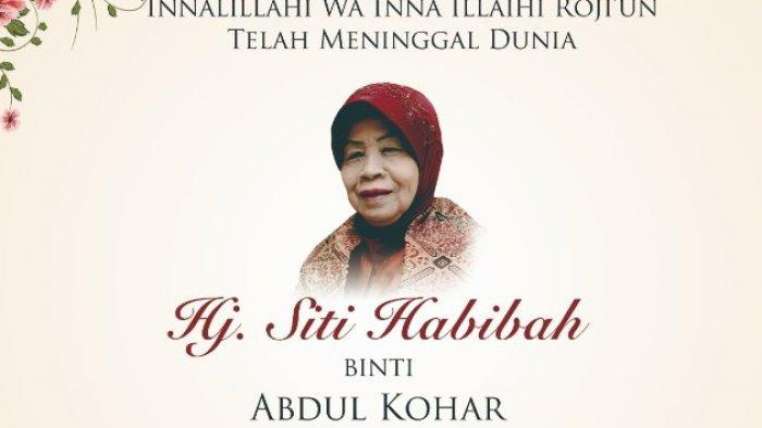 Detik-detik Siti Habibah Ibunda SBY Hembuskan Nafas Terakhir, SBY dan AHY Temani di Sampingnya