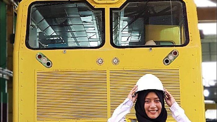 Siti Alfiyah, Jadi Masinis MRTkarena Sering Gunakan Transportasi Kereta Api