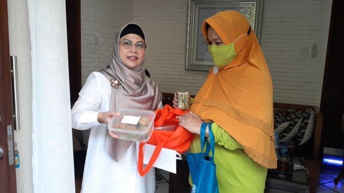 Sebelum Mencoblos, Azizah Sarapan Teh dan Cookies Kelor untuk Jaga Stamina