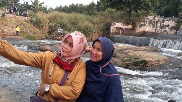 Bosan PSBB, Warga Tangsel Ramai Wisata Gratis ke Situ Lengkong Wetan Serpong - Tribunjakarta.com