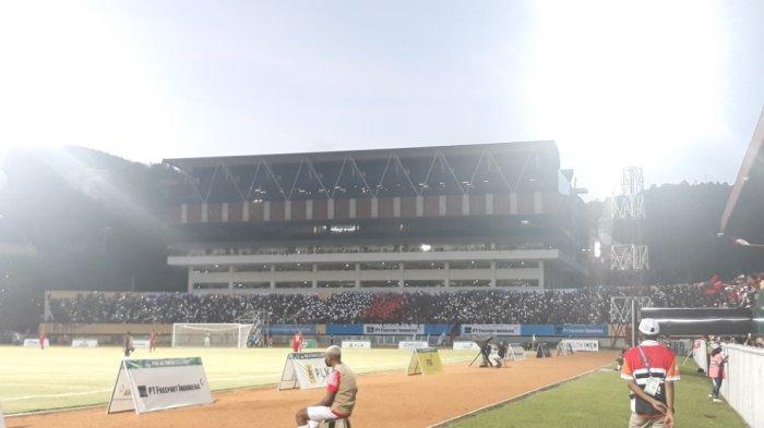 Penonton Membeludak Saksikan Final Sepak Bola PON Papua Vs Aceh: Ada Penampilan Koreo Khusus