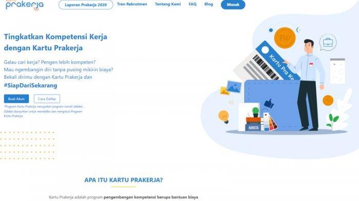 Pendaftaran Kartu Prakerja Gelombang 18, Simak Cara Mudah Isi Data di www.prakerja.go.id