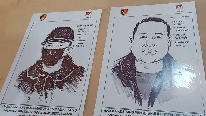 Polres Metro Jakarta Utara Rilis Sketsa Wajah Pelaku Penembakan di Kelapa Gading