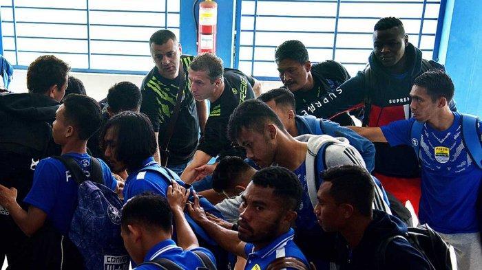 Seusai Libas Persiwa Wamena 7-0, Pemain Persib Bandung Beraksi Konyol di Ruang Ganti, Ini Videonya