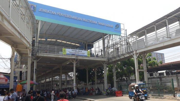 PD Sarana Jaya Belum Bisa Pastikan Peresmian Skybridge Tanah Abang