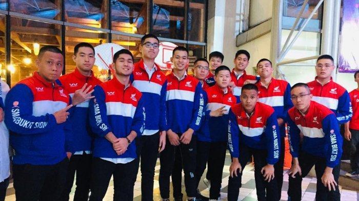 Honda DBL DKI: Bukit Sion Tampil Kompak Potong Rambut Cepak Jaga Chemisrty di Babak Championship