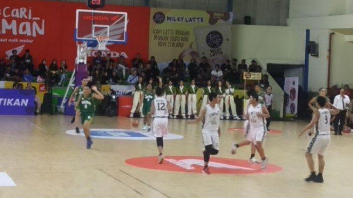 Unggul Telak di Quarter Kedua, Tim Basket Putra SMAN 36 Harus Akui Kemenangan SMAN 42