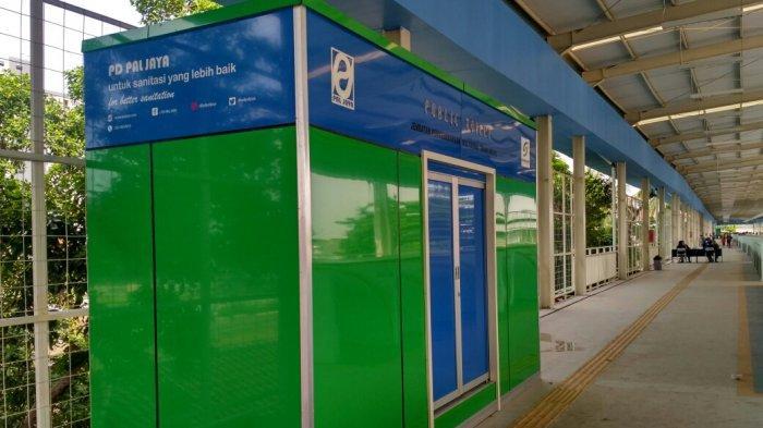 PD Sarana Jaya Bakal Tambah Smart Toilet di JPM Tanah Abang