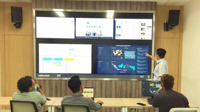 Pertama di Indonesia, Ruangan Pemantau Media SosialHadir di Bandara Soekarno-Hatta