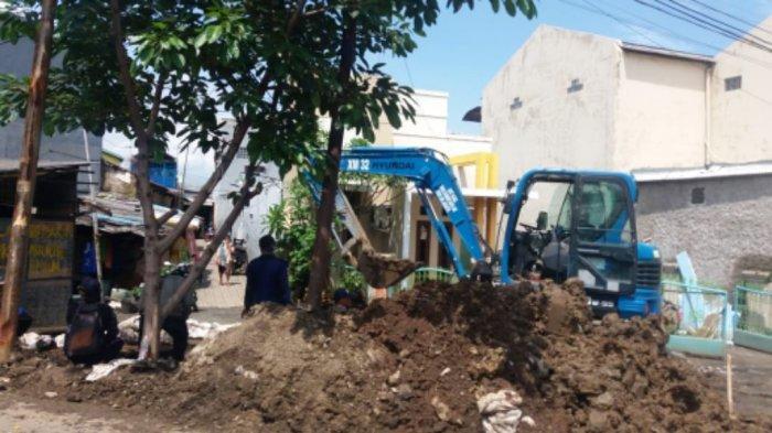 Dua Sodetan yang Dibangun Atasi Genangan dekat Rumah Pompa Bulak Cabe