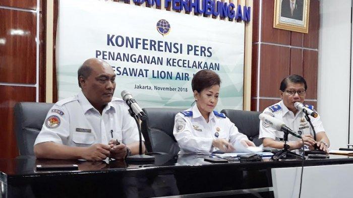 KNKT Bantah Dugaan Sinyal Ping Lion Air PK-LQP Mati Akibat Terendam Lumpur