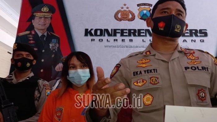 Sosok Nur Hayati (27) yang gabung komplotan begal di Lumajang untuk menjerat motor para korbannya.