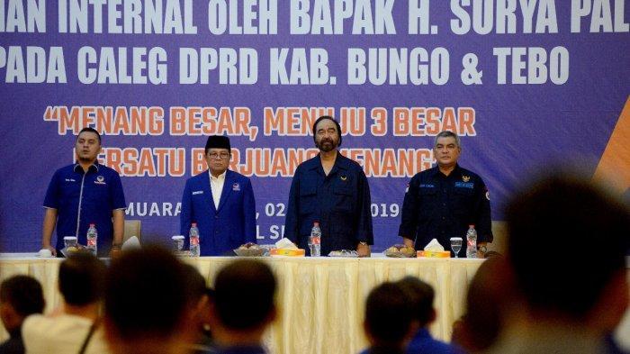 Punya 2 Target, Surya Paloh Tegaskan Memenangkan Jokowi Lebih Penting