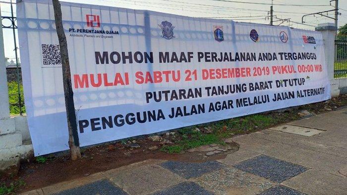 Putaran Tanjung Barat Akan Ditutup, Berikut Jalan Alternatifnya